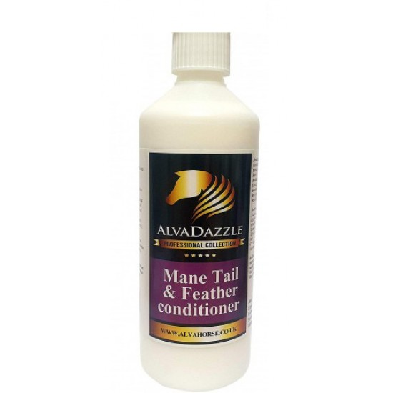AlvaDazzle ~ Mane Tail & Feather Conditioner 500ml ~ Refill